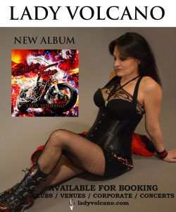 Lady Volcano - Available for booking